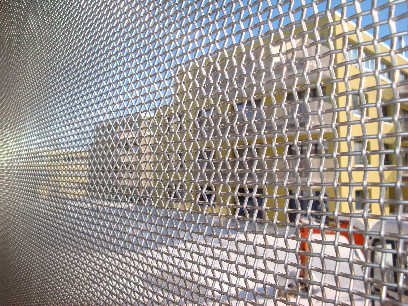 Drahtgewebe für Architektur und Bau
